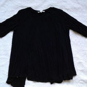 BCBGeneration Shirt Open Back Black XS